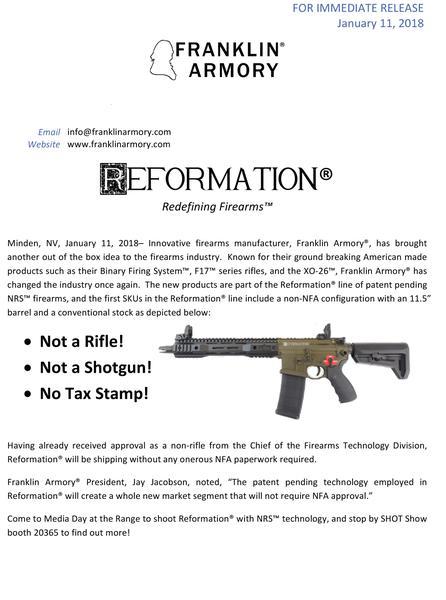 Microsoft Word - Reformation Press Release.docx