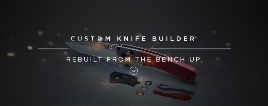 benchmade custom knife tool 1