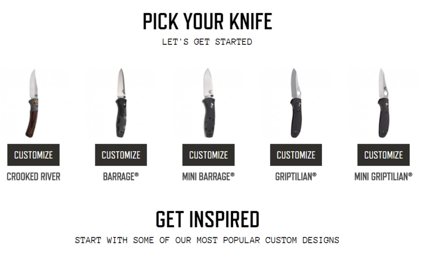 benchmade custom knife tool 2