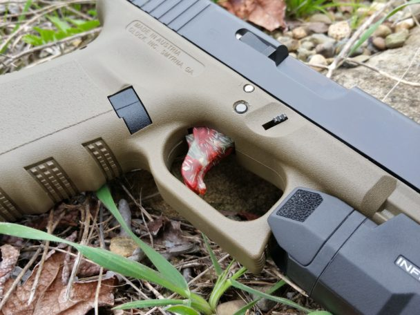 blood diamond glock trigger
