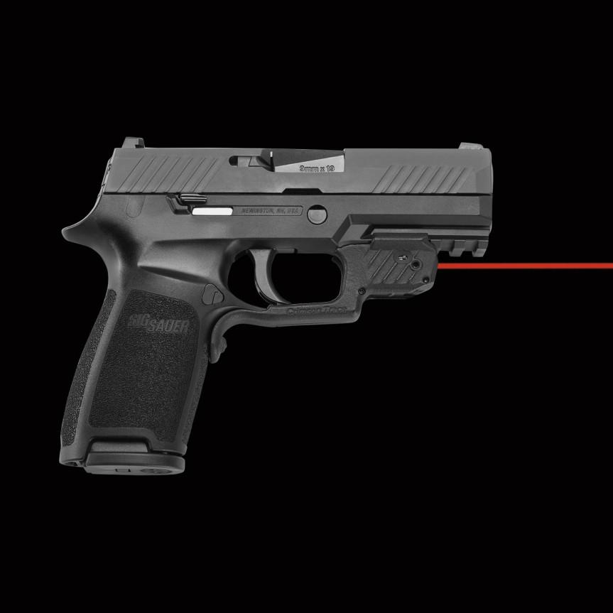 crimsontrace laser guard sig sauer p320 m17 m18 pistols 5