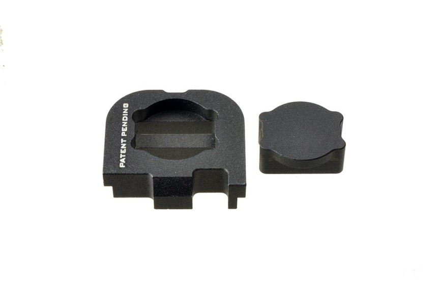 Slide cover plate for Glock 42 and glock 43 7