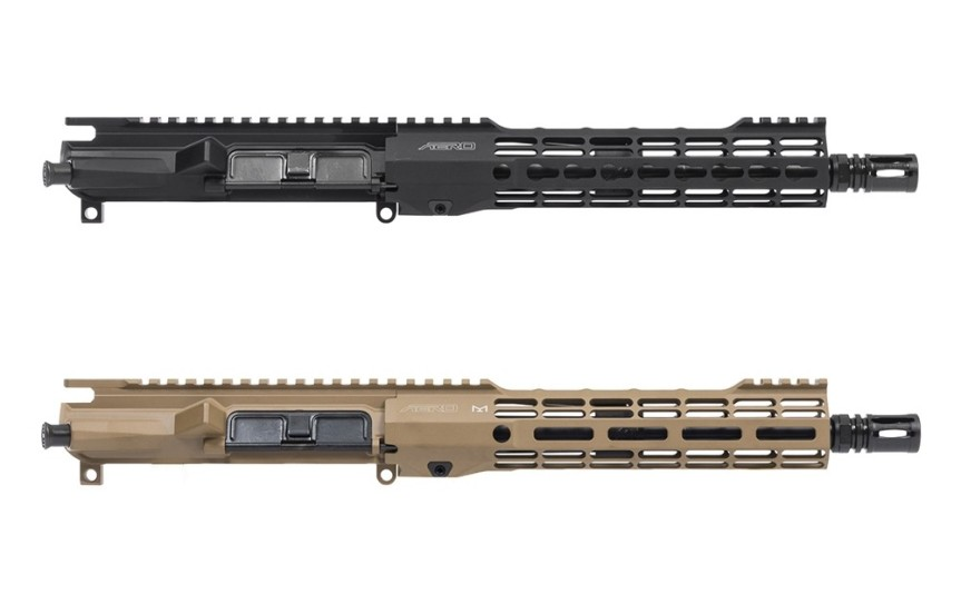 APPG700211 APPG700212 M4E1 Threaded .300 Blackout Complete Upper Receiver with ATLAS S-ONE Handguard 2