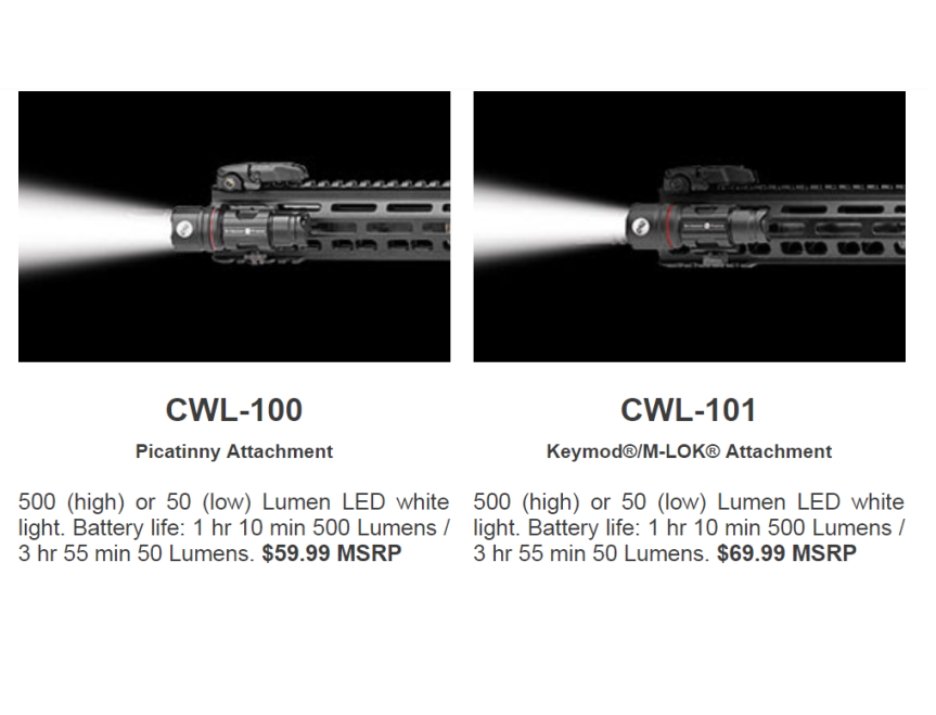 crimson trace tactical light series weapon lights with mounts and switch pad 2