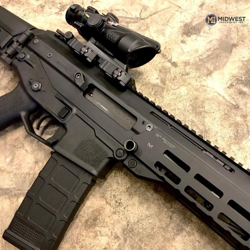 midwest industries Bushmaster ACR mlok handguards 2