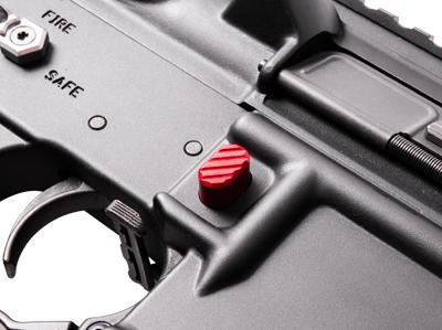 phase 5 pmr ar15 magazine release button anodized billet aluminum 3