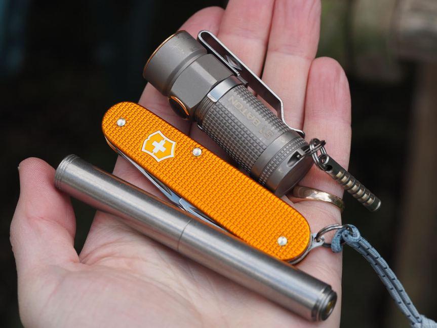 Schon DSGN Clip EDC Pen, Polished Aluminum 6