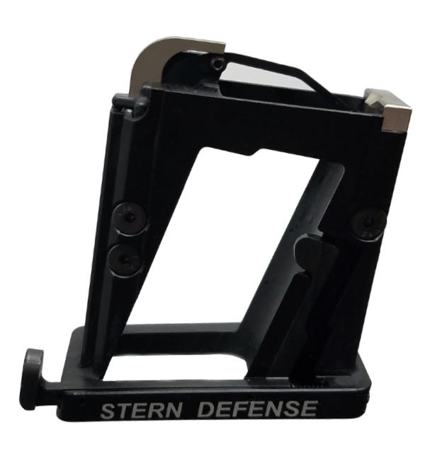 stern defense ar15 magazine well adapter for pistol 9mm 40 sw mag-ad9 mag-admp9&40 1