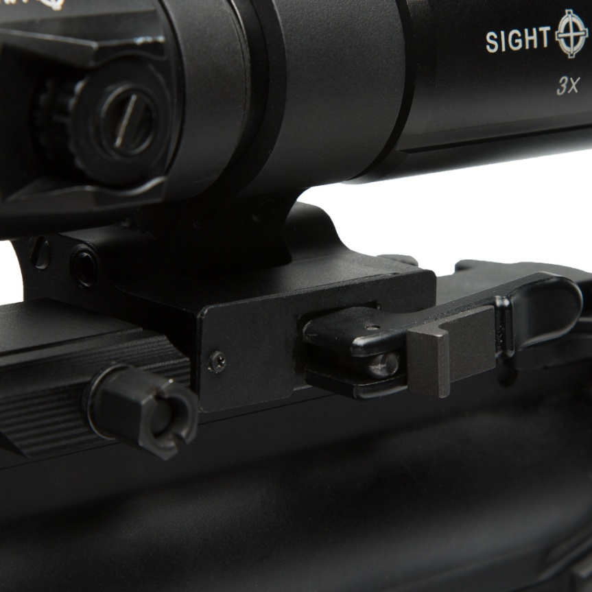 T-3 Magnifier with LQD Flip to Side Mount SM19063 8