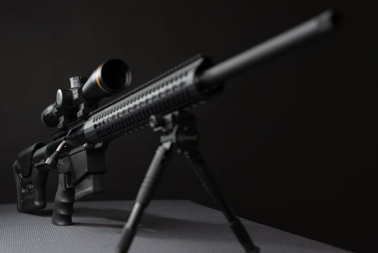 uintah precision upr-10 bolt action ar10 upper receiver assembly 2