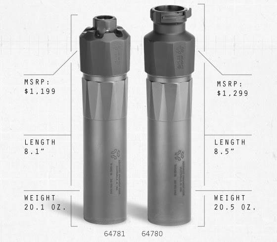 ADVANCED ARMAMENT CORP: TI-RAID 30 SILENCER