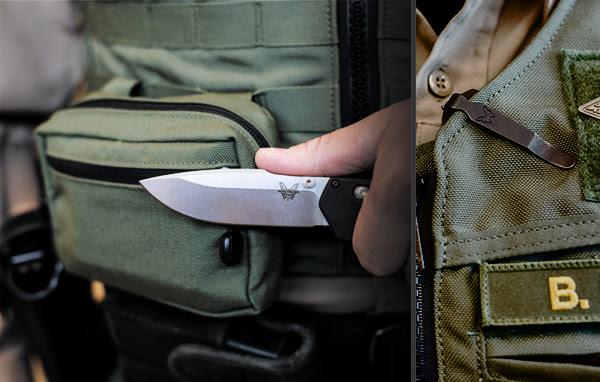 benchmade knives 407 vallation knife folder 3