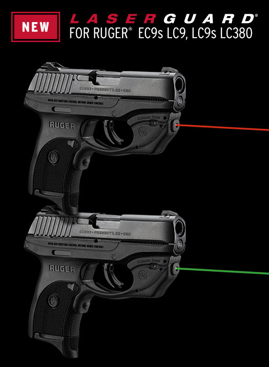 crimson trace laserguard lg-416 lg-416g laser for ruger ec9s laser lco laser lc9s laser lc380 laser 7