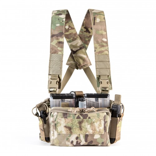 HALEY STRATEGIC D3CRM MICRO MODULAR CHEST RIG Disruptive Environments Chest Rig Micro 1