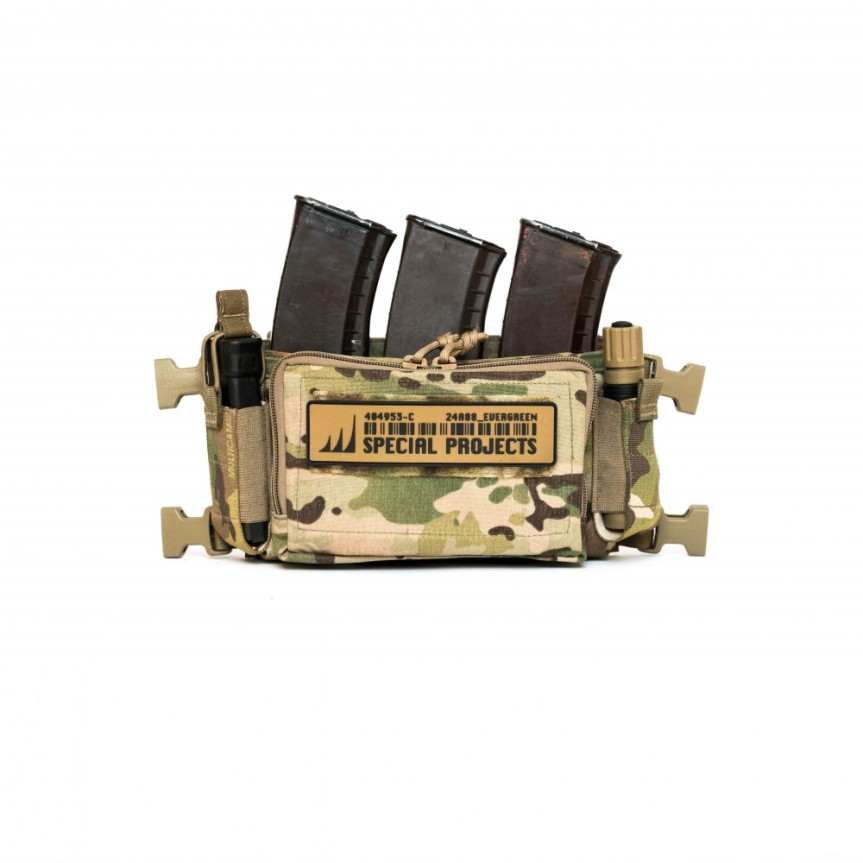 HALEY STRATEGIC D3CRM MICRO MODULAR CHEST RIG Disruptive Environments Chest Rig Micro 10