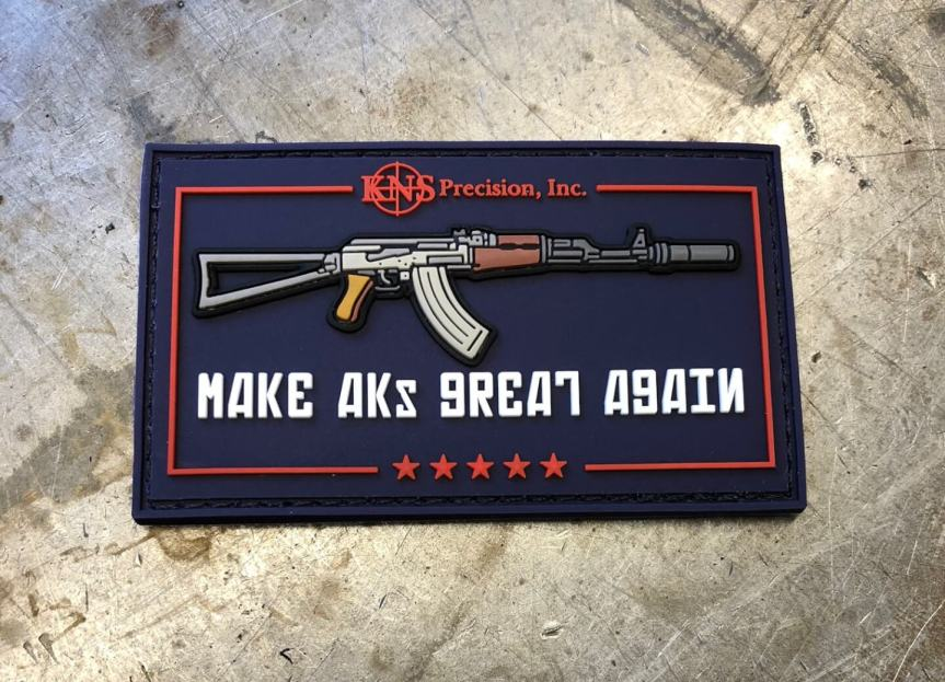 kns precision makga make aks great again morale patches edc morale patc 1