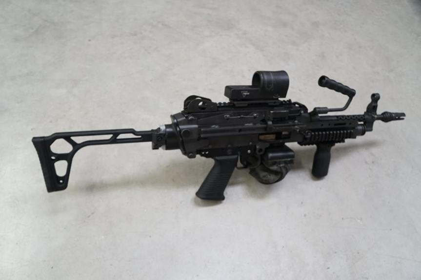 kns precision mcx cz bren m249 folding stock adapter 1