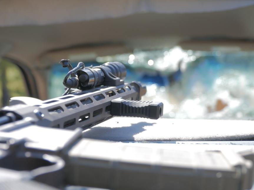 lead faucett tactical lft brokos brace handstop ar15 handstop 3