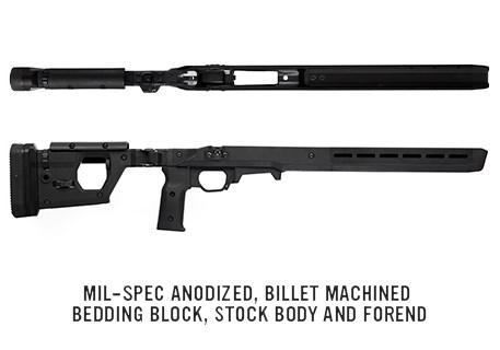 magpul pro 700 chasis remington 700 rifle chasis sniper rifle stock mag802 7