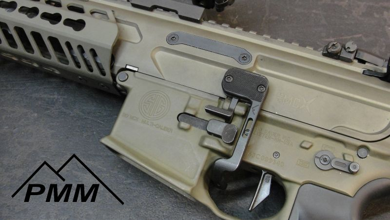 parker mountain machine bcd battery control device. sig mcx bad lever 1