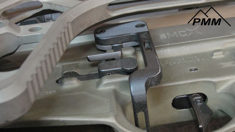 parker mountain machine bcd battery control device. sig mcx bad lever 3