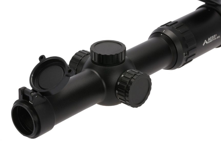 Primary Arms 1-8X24 SFP Rifles Scope with ACSS Griffin MIL Reticle PA1-8X24SFP-ACSS-GRIFFIN-MIL 8