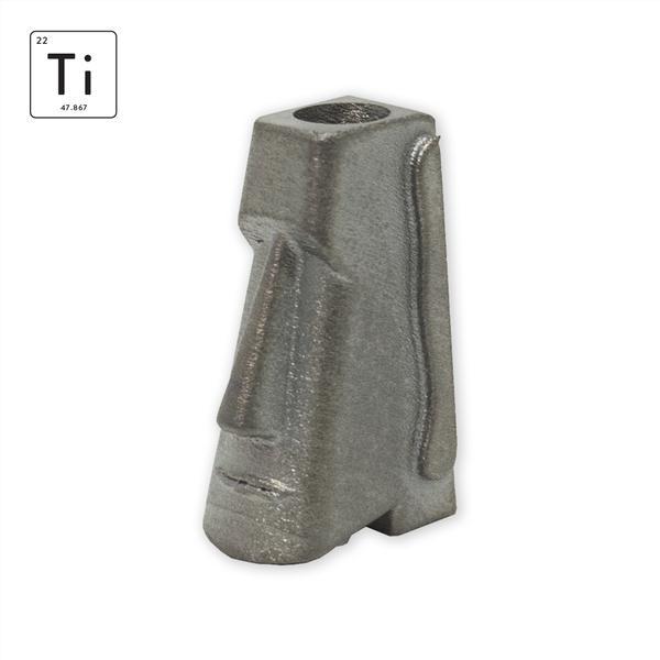 PROMETHEUS DESIGN WERX PDW MOAI TITANIUM TOOL BEAD edc beads 1