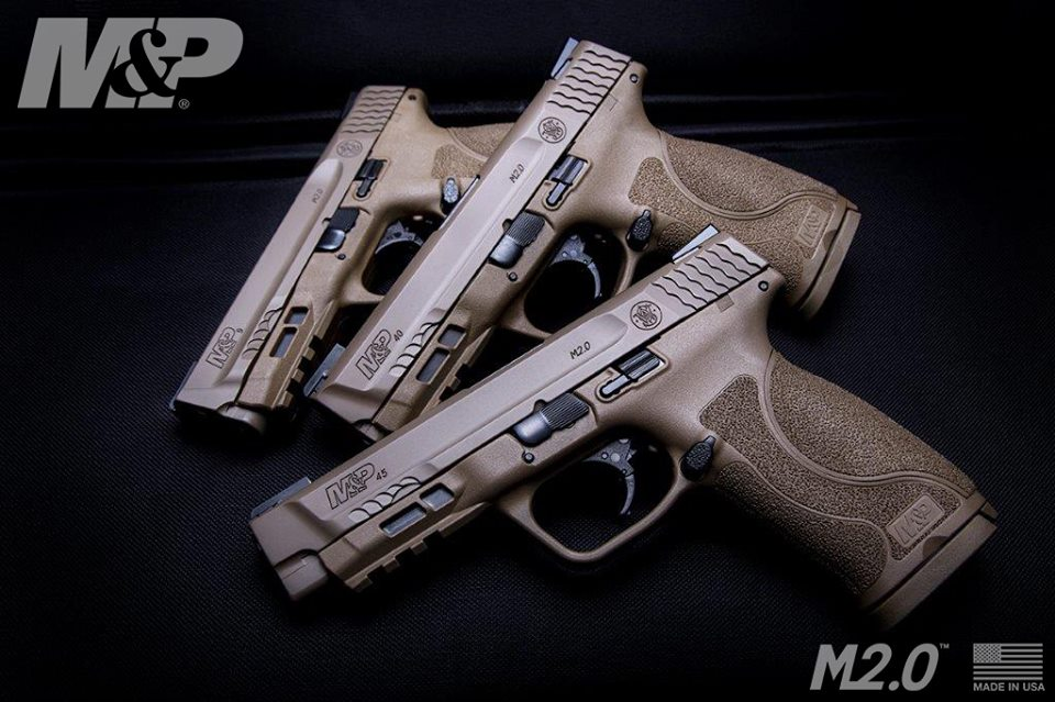 SMITH & WESSON M&P 45 M2.0 TRUGLO TFX SIGHTS