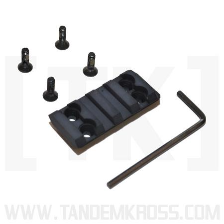 tandemkross kel-tec pmr 30 freedom rail slide optic mount TK08N0029BLK1 3