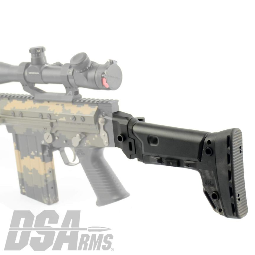 ds arms 090P-BRS-A SA58 FAL Fully Adjustable PARA B.R.S. - Battle Rifle Stock fal para stock conversion 6