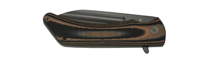 kabar model 3066 mark98 folder knife . flipper pocket knife . 7