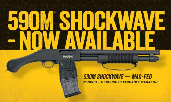 mossberg 590m shockwave magazine fed shotgun 015813502085 1