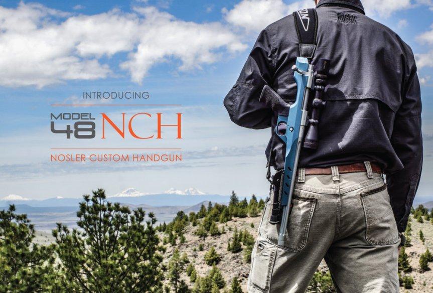 nosler hunting handgun nosler model 48 nosler custom handgun m48 NCH 1