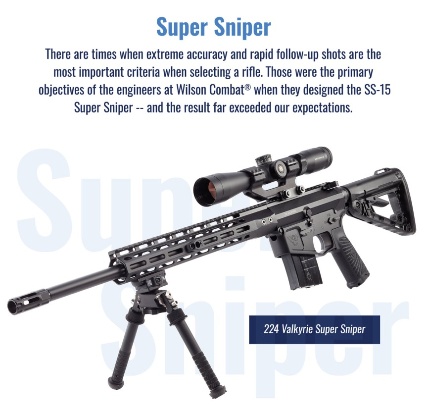 RIFLE1581 RIFLE1584 RIFLE1585 wilson combat recon tactical 224 valkyrie super sniper 224 valkyrie 7