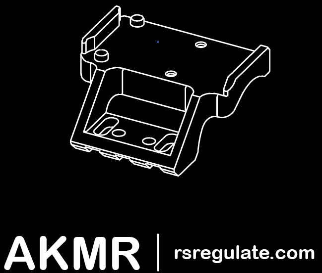 rs regulate AKMR rmr mount ak rmr mount ak optic mount 6173955300518 5