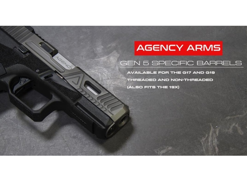 Agency arms glock barrels threaded glock barrel gucci glock barrels. gold glock barrrels match grade glock barrels. 7