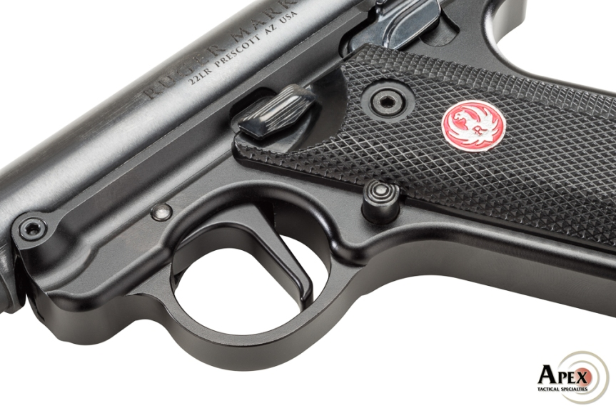 apex tactical triggers apex ruger trigger apex mkiv trigger flat trigger for mkiv ruger flat trigger 117-124 117-184 4