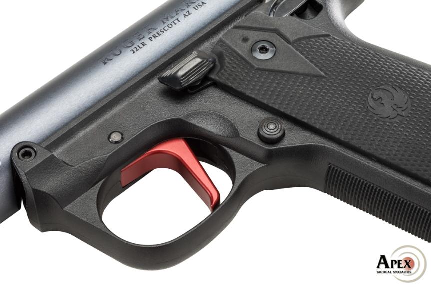 apex tactical triggers apex ruger trigger apex mkiv trigger flat trigger for mkiv ruger flat trigger 117-124 117-184 7