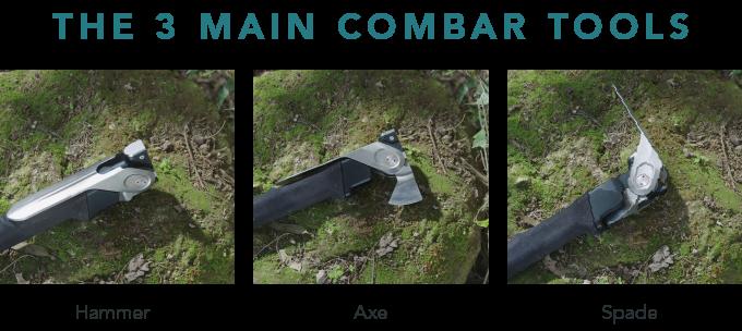 combar heavy duty multi tool. bushcraft multi tool axe shovel combo titanium edc prepper multi tool 4