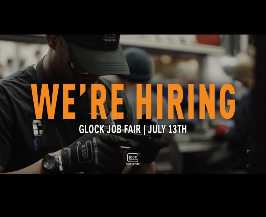 glock now hiring 1