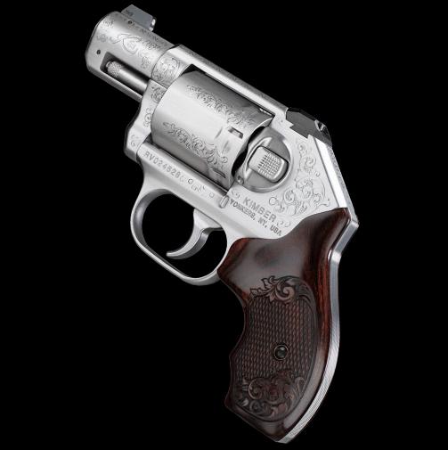 kimber k6s classic engraved k6s grips custom revolver 1