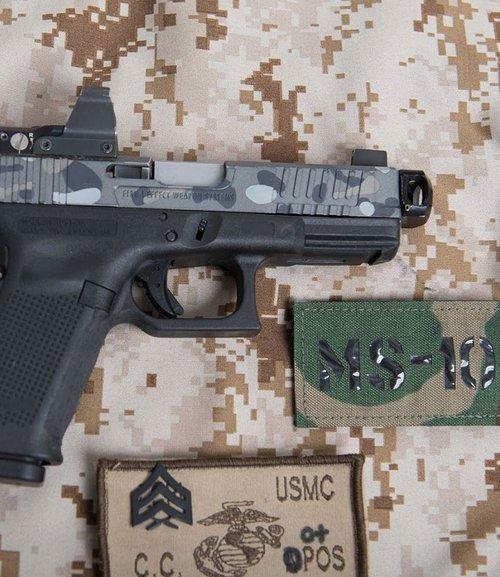 mayhem sydicate carry compensator system glock compensator for carrying a pistol small glock comp glock 19 custom glock 17 glock 26 gen 5 glock 6