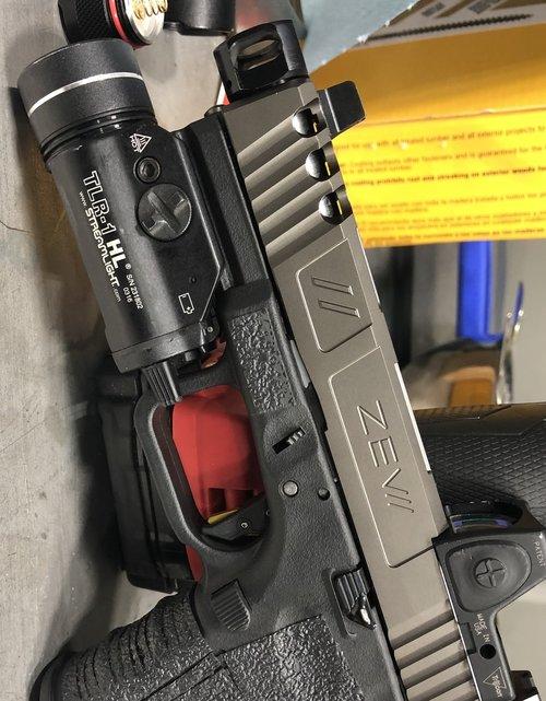 mayhem sydicate carry compensator system glock compensator for carrying a pistol small glock comp glock 19 custom glock 17 glock 26 gen 5 glock 9