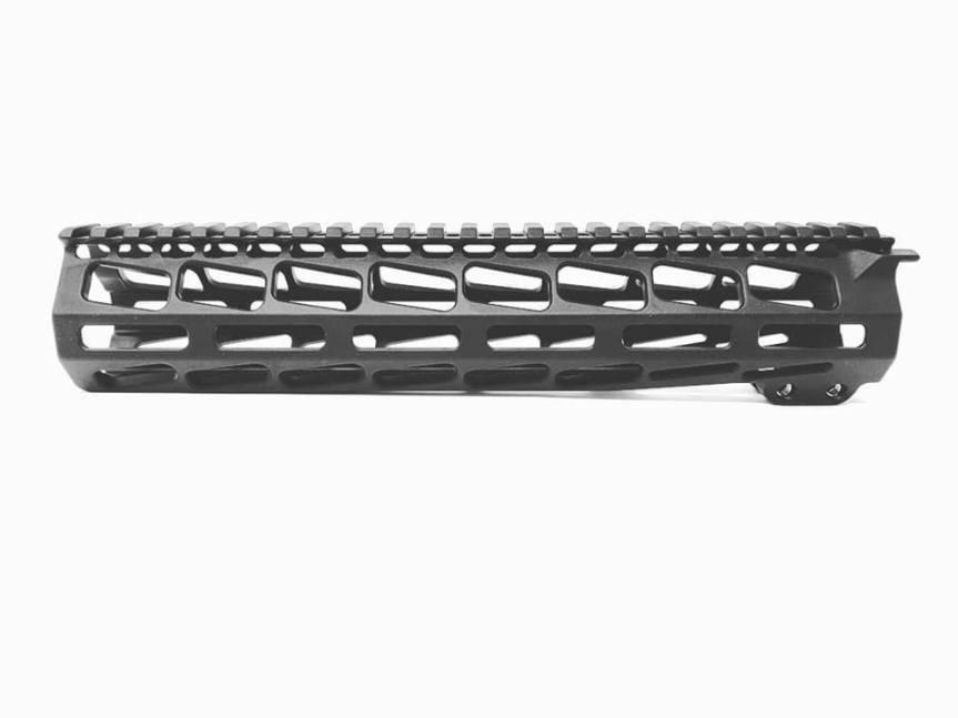 pamax tactical 9.85 inch billet handguard mlok rail 9.85 forend rail 10.5 barrel rail tuck under ar15 HG-MLOK10 1