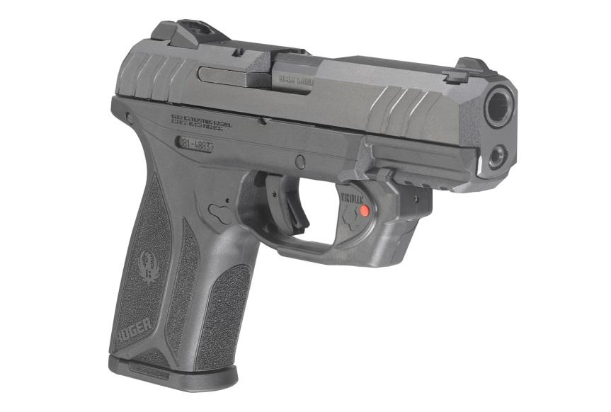 ruger security-9 pistol with viridian laser model 3816 2