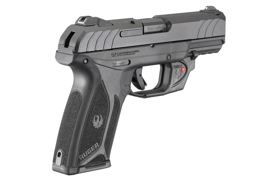 ruger security-9 pistol with viridian laser model 3816 3