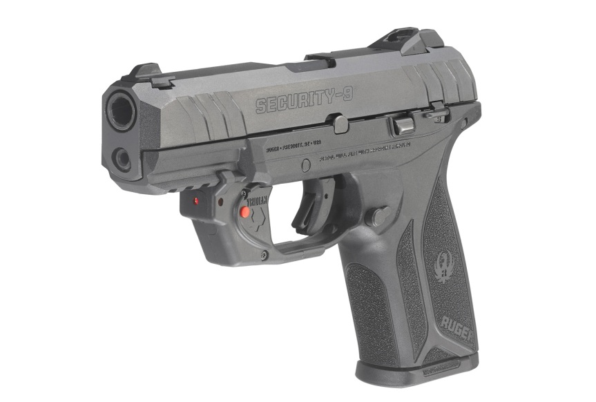 ruger security-9 pistol with viridian laser model 3816 6