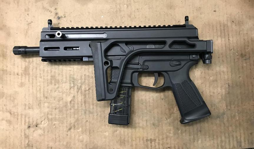 safety harbor firearms Stribog SP9A1 sig stock Stribog SP9A1 folding stock adapter cz scorpion sig stock cz scorpion sig mpx folding stock 2