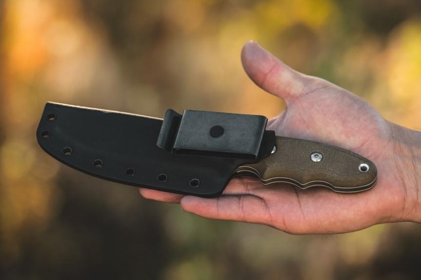 tops knives backpacker bowie knife hiking knife backpack knife light weight edc knife. bpb-01 10