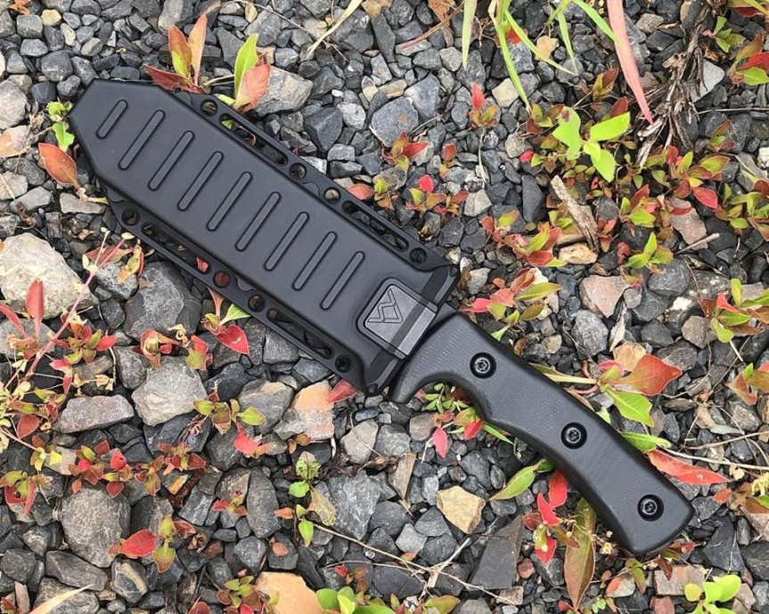 abraham and moses knives abe and moe knives goodman knife sheath of the future nighthunter knife 16-005B-SOTF-B 1